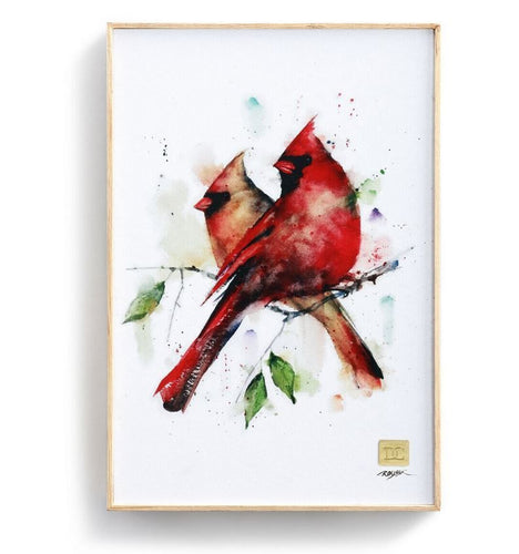 DC Cardinal Pair Wall Art