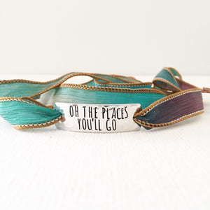 Clair Ashley - Oh The Places You'll Go Wrap Bracelet