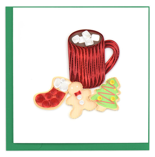 Quilling Card - Christmas Cookies