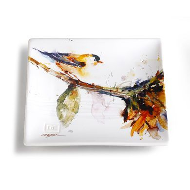 DC Gold Finch Snack Plate