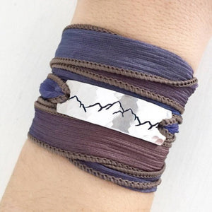 Clair Ashley - Mountain Range Wrap Bracelet