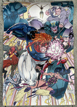Load image into Gallery viewer, WILDC.A.T.S. Convention Booth Banner • Jim Lee • Wildstorm