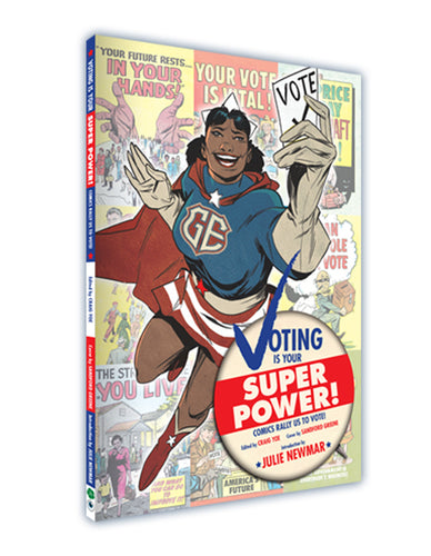 Voting is Your Super Power!