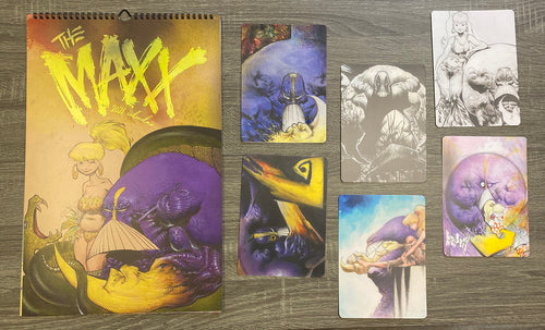 Maxx 2021 Wall Calendar + 6 Postcards