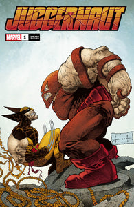 SIGNED Sam Kieth Juggernaut #1 Variant Cover