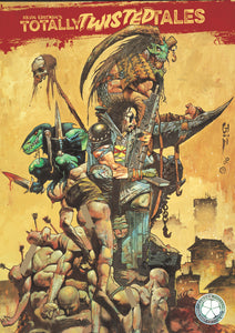 Kevin Eastman's Totally Twisted Tales B Cover