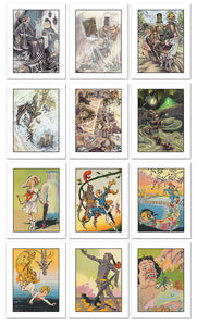 The Royal Book of Oz Collector's Edition Art Prints