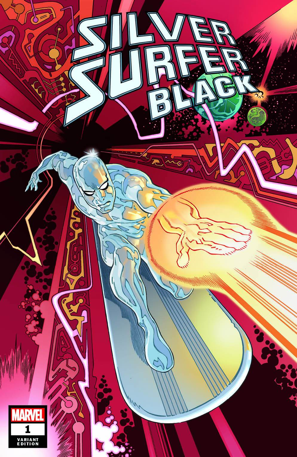 Gabriel Rodríguez Silver Surfer Black #1 Variant Cover SHIPPING NOW