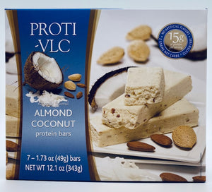 Almond Coconut Bar - VLC