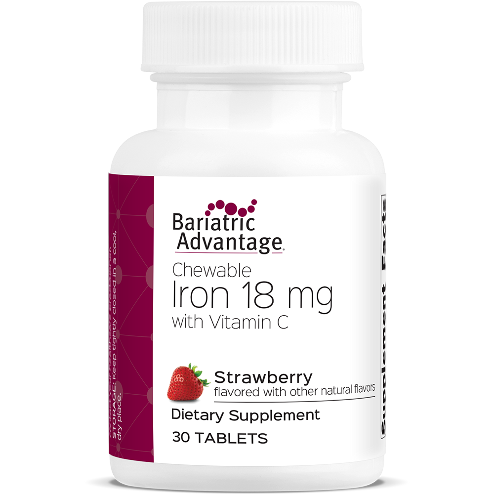 Iron Chewable 18mg Strawberry