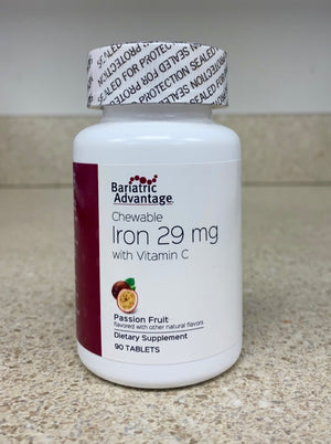 Iron Chewable 29mg Passion Fruit