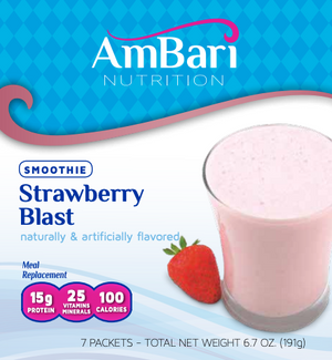 Strawberry Blast Smoothie