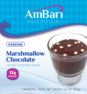 Marshmallow Chocolate Pudding