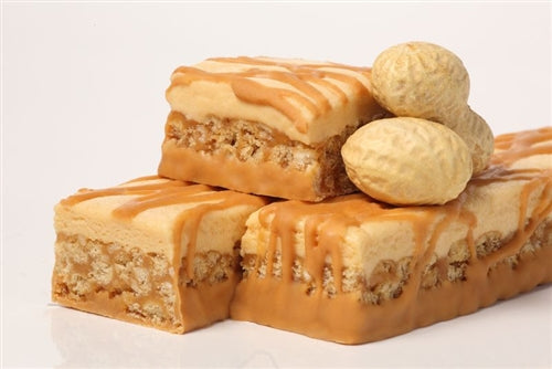 Frosted Peanut Butter Bars