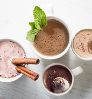 Variety Hot Chocolates