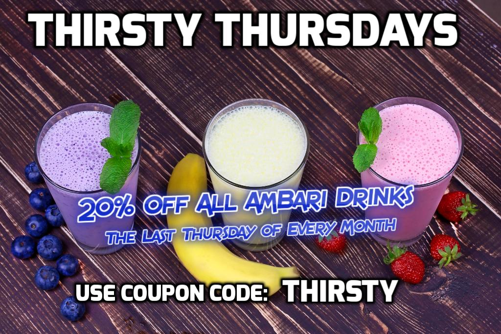Thirsty Thursday Coupon