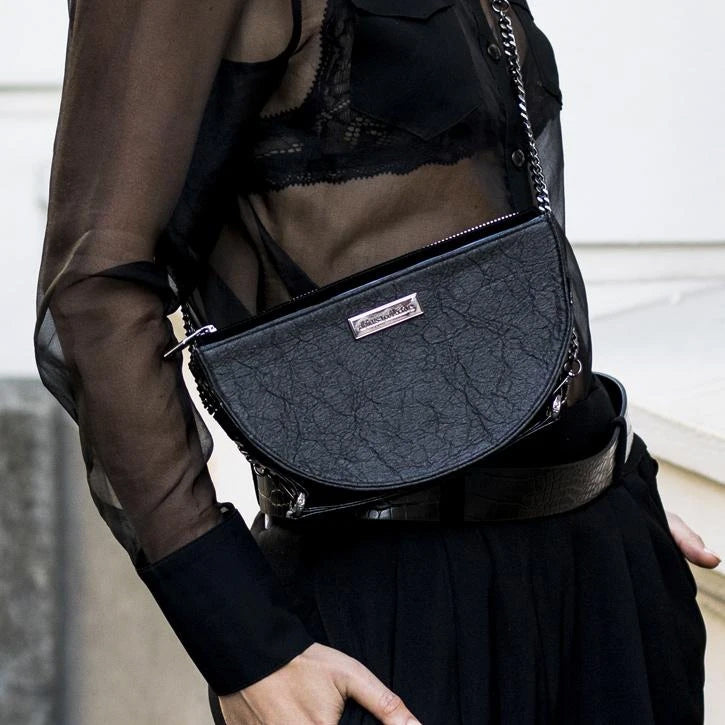Half Moon Crossbody bag by Ahimsa Collective