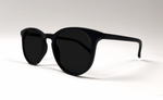 York - Recycled Glasses Frames - Classic Black - Sunglasses - Evolve Eyewear