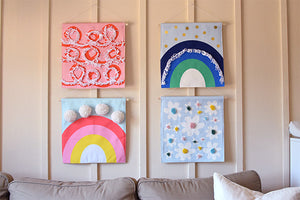 Decor DIY: Create your own wall art using fabric