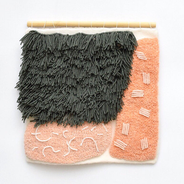 Wall hanging by textile artist Allie Padgett