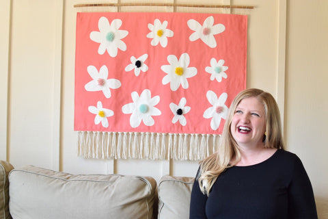 Allie Padgett is a textile artist in San Diego.