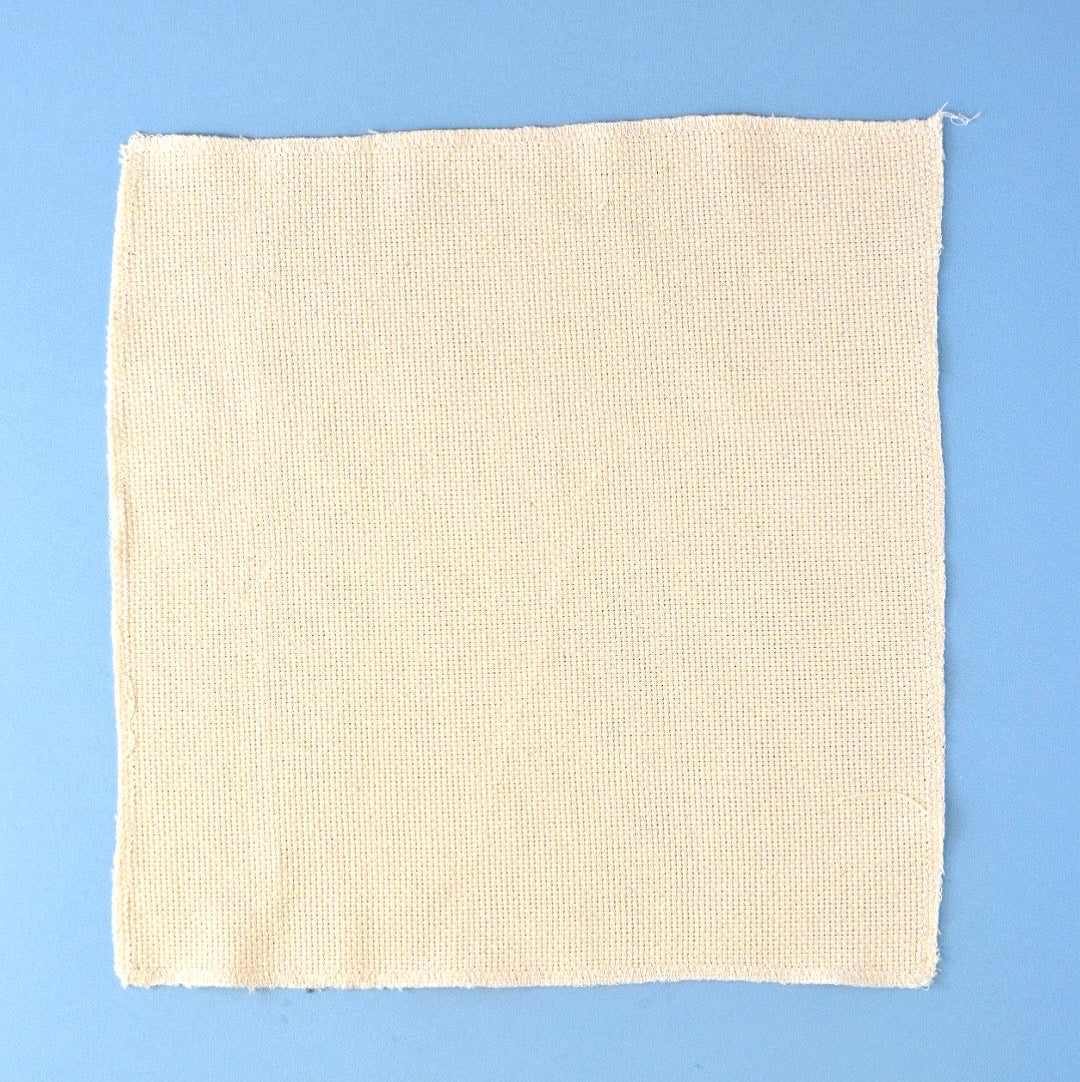 Punch needle fabric (monk's cloth)