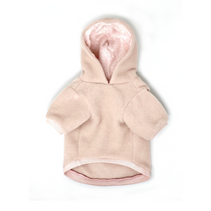 Love Heart Fleece Hoodie