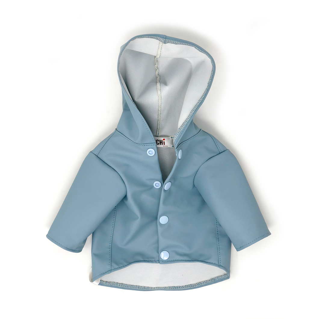 Rainy Raincoat - Dove Blue