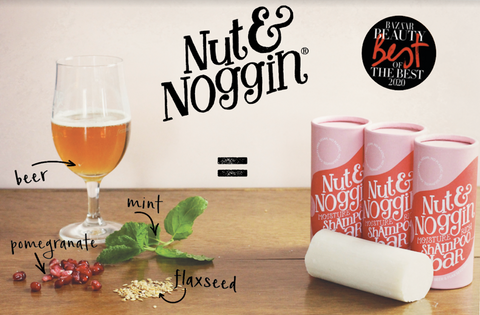 Best Shampoo Bar Nut and Noggin wins Bazaar Best in Beauty Award 2020