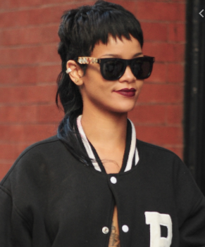 Rhianna's mullet is a key trend for hair in 2021