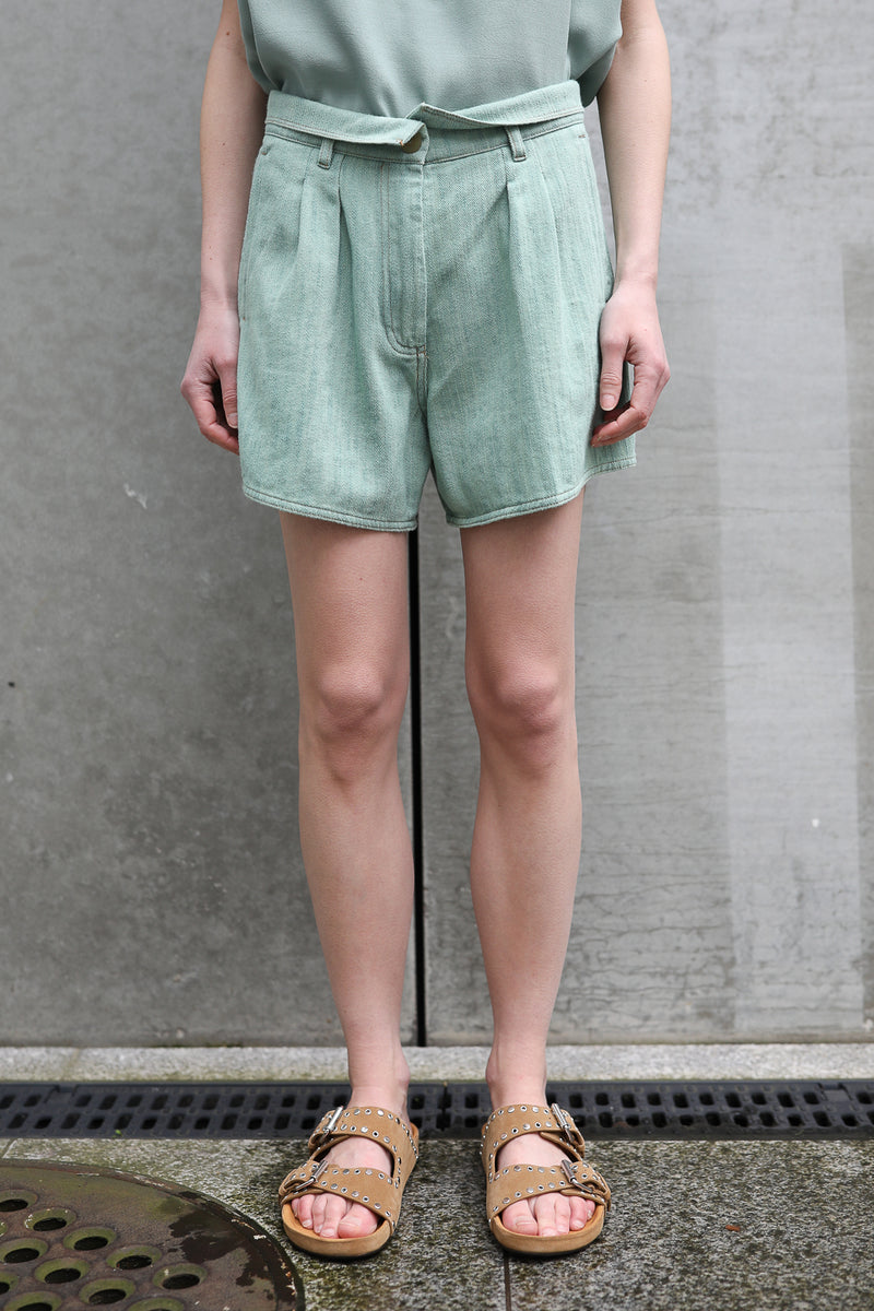 Shorts Cavalry aus Denim