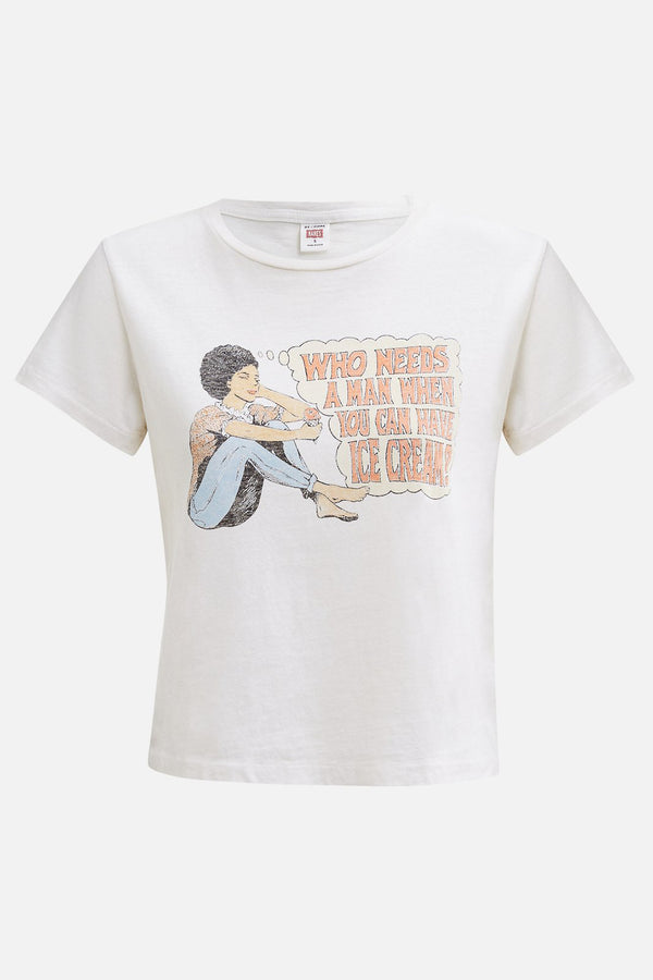 "T-Shirt ""Who needs a man"""