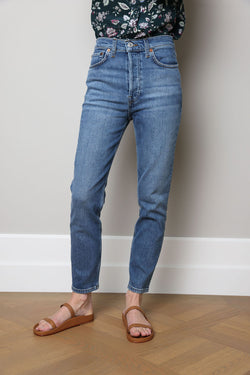 Jeans 90s High Rise Ankle Crop
