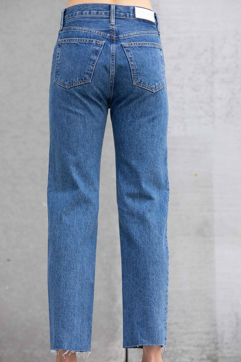 Jeans High-Rise Straight Stovepipe