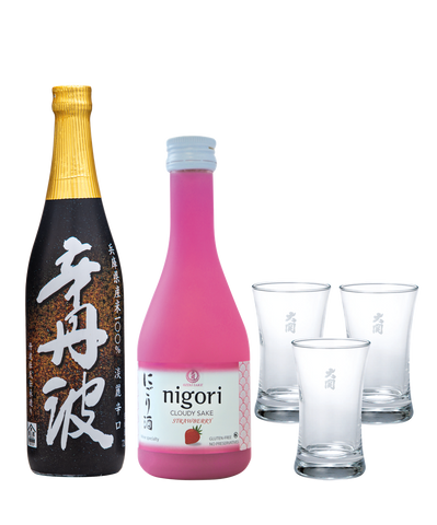 Sake Nigori Strawberry Sake Set