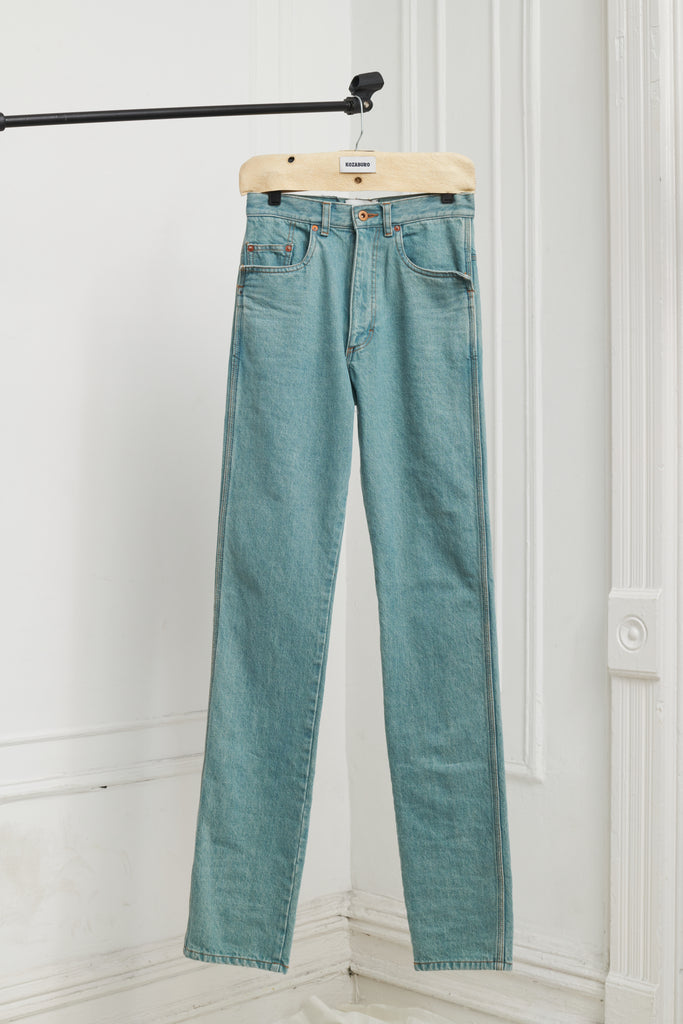 STRAIGHT LEG RODEO JEANS