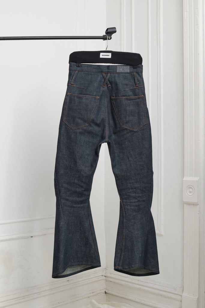 SELVEDGE DENIM 3D BOOTCUT JEANS