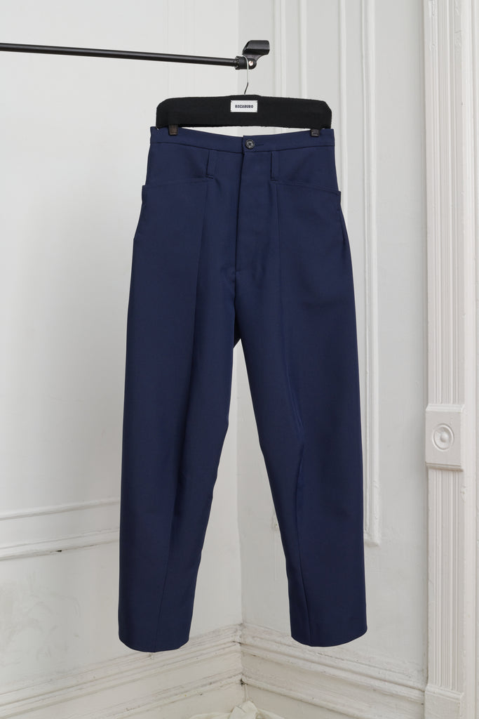 UNIFORM 3D SHAPED TROUSERS