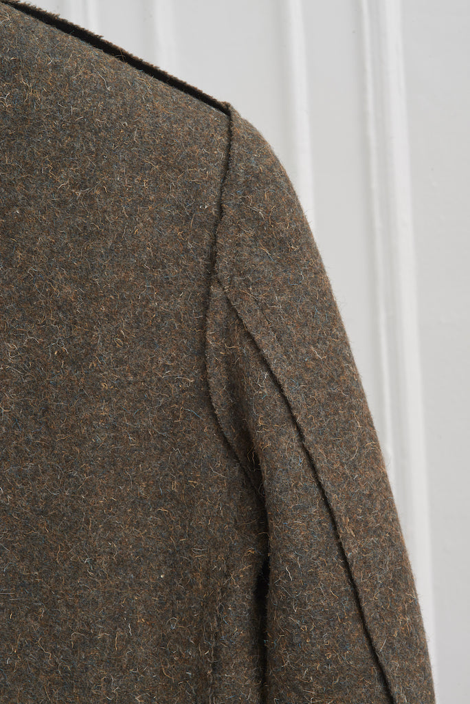 MELTON WOOL CLASSIC FIT TAILORED JACKET