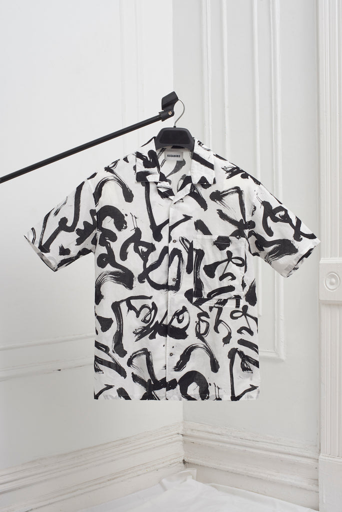 BOXY CAMP COLLAR SHIRT
