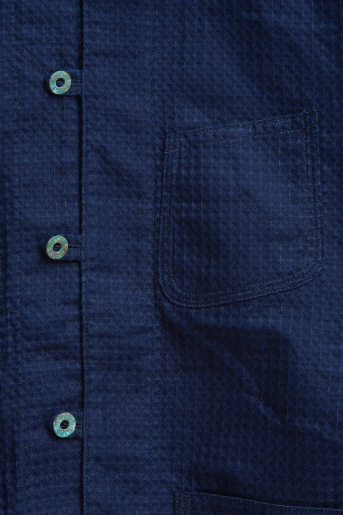 ORIENTAL WORK JACKET W/ RUSTED BUTTONS