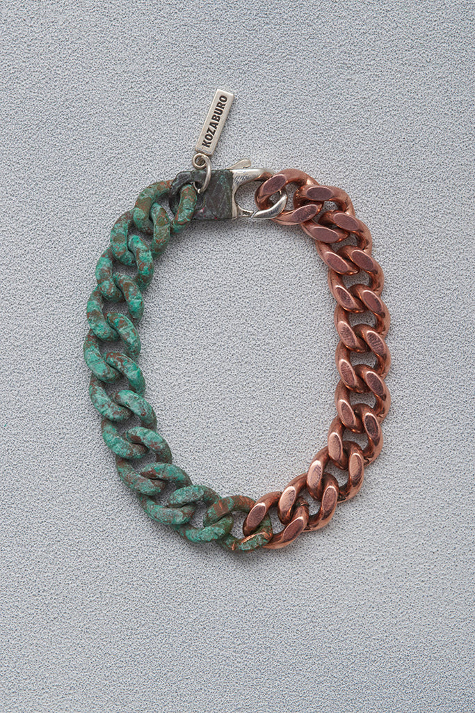 HALF RUSTED COPPER BRACELET