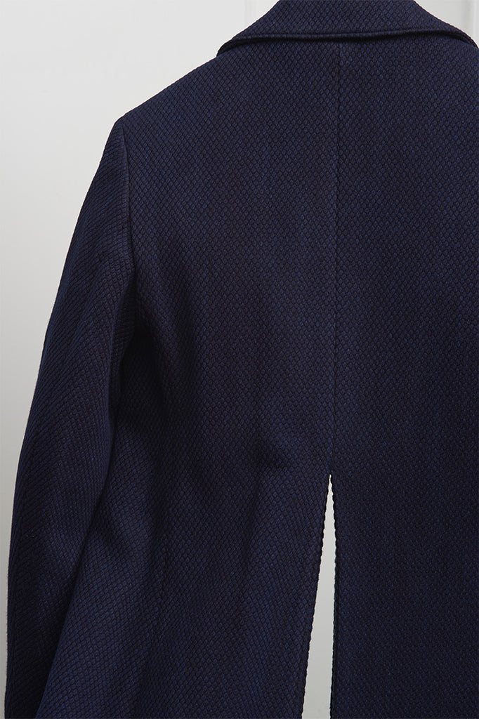 SASHIKO BAL COLLAR COAT