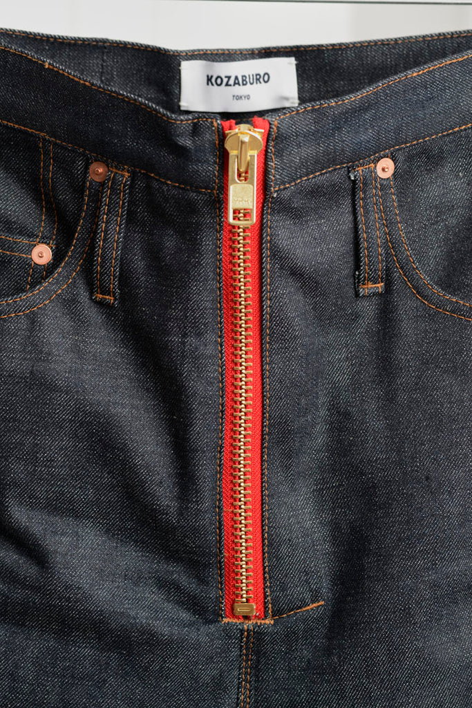 SELVEDGE DEMIM SLIM LEG RUMBLE JEANS