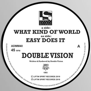 Double Vision - What Kind Of World / Easy Does It