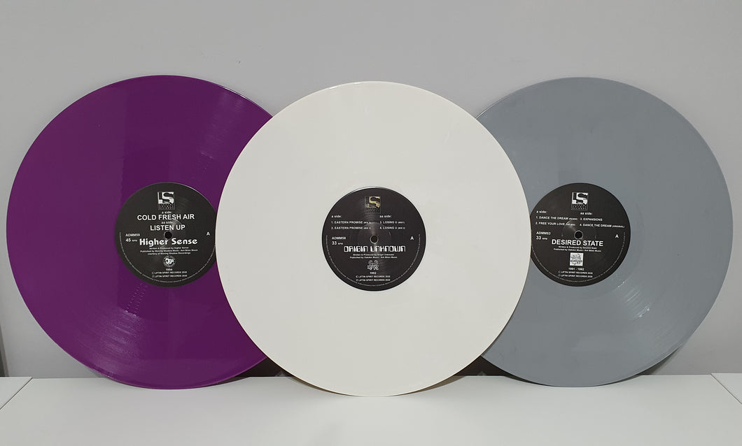 Coloured Vinyl Bundle (Dance The Dream E.P / Cold Fresh Air / Eastern Promise E.P)