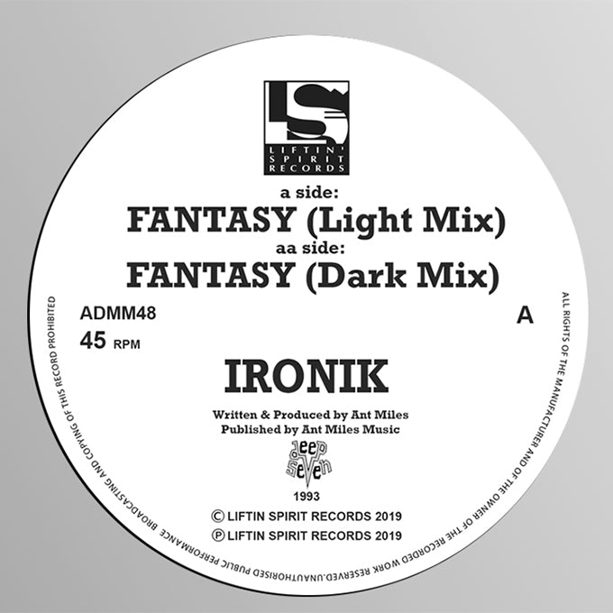 Ironik - Fantasy (Light Mix) / Fantasy (Dark Mix)