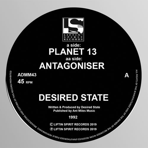 Desired State - Planet 13 / Antagoniser
