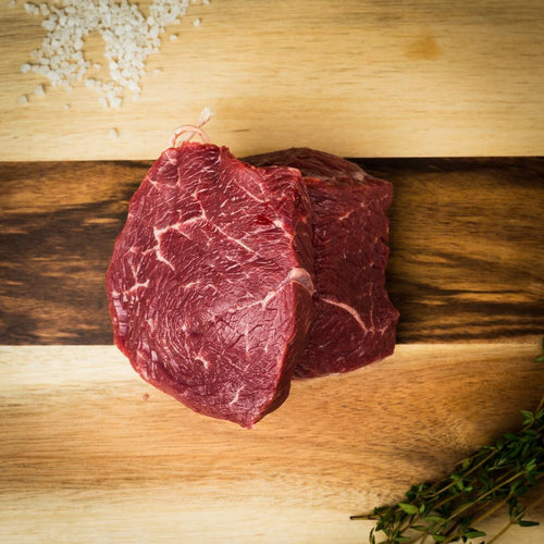 Beef, Rosewood Ranch 3 oz Sirloin Filets, 1.5 lb - Hardie's Direct Dallas, TX