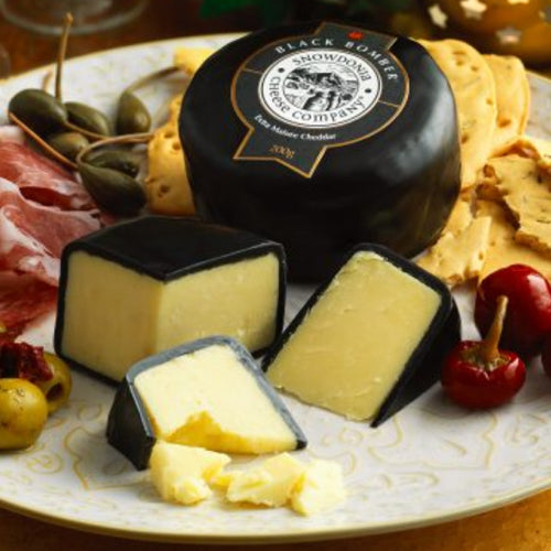 Snowdonia Black Bomber Extra Mature Cheddar Cheese - hardie's Direct, Dallas TX